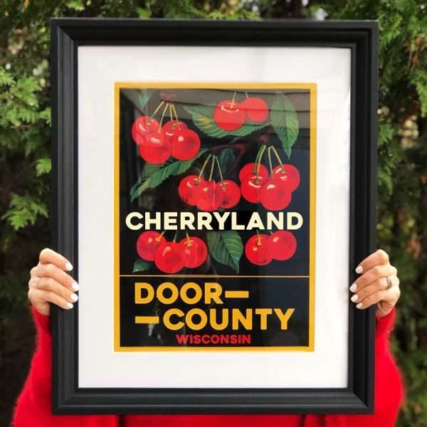 Door County Cherryland Poster